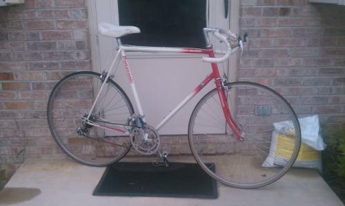 Das einzige nicht erhalten gebliebene Foto von meinem Rad nicht.