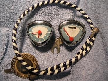 Der ulltimativ coolste Tacho der Siebziger. Die Uhr: Ein Traum nur.