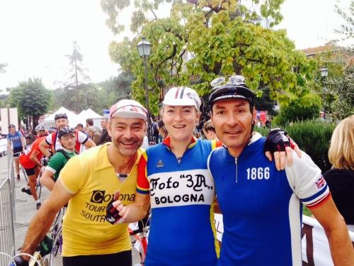 Eroica 2013 David, Juliane und noch einer