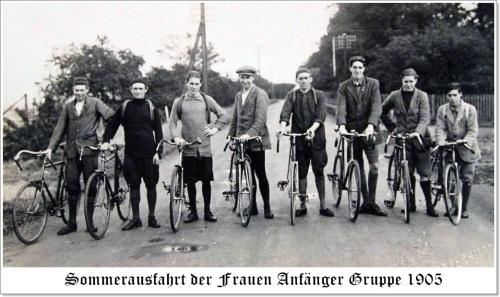 Frauen Anfänger Gruppe 1910