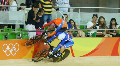 Cycling Track - Women's Keirin First Round
