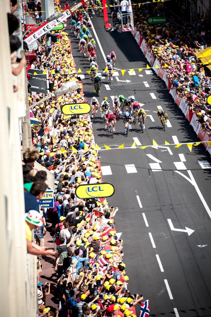 2016 Tour de France Cycling Tour Stage 4 Saumur to Limoges Jul 5th