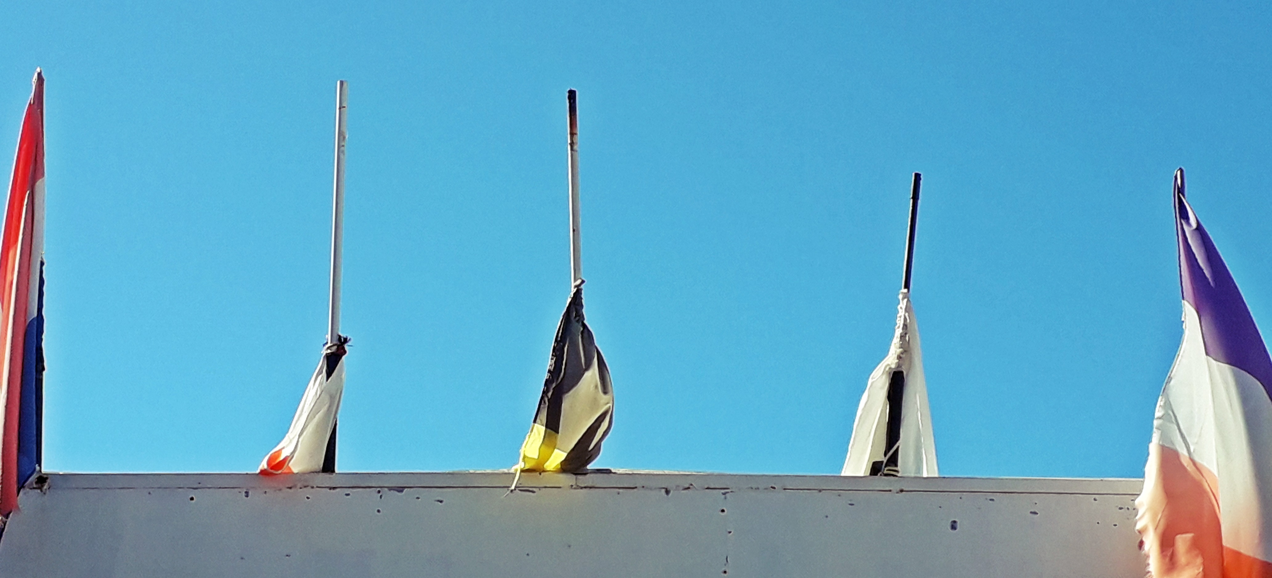 1812 teneriffa flags